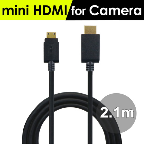 mini HDMI to HDMI-A Video for connecting M505 monitor to a camera