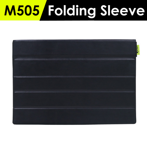 ● Suitable for M505 Series Monitors ● Multi-Function:Monitor Sleeve/ Monitor Stand/ Laptop Stand ● thickened front cover, upgraded protection ● soft and wear-resistant inner material ● stable support for touch operation ● Fit in 15-inch back backpack/notebook bag