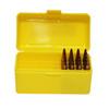 Max-Comp Plastic Rifle Ammo Box - 50 Round - .204, .222, .223 etc