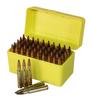 Max-Comp Plastic Rifle Ammo Box - 50 Round - .243, 22-250, .308 etc