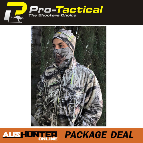 max-hunter camo clothing package