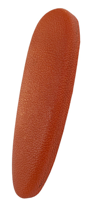 Cervellati Microcell Recoil Pad - Leather Effect - 15mm Thick - Red