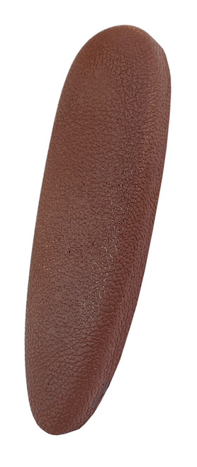 Cervellati Microcell Recoil Pad - Leather Effect - 15mm Thick - Brown