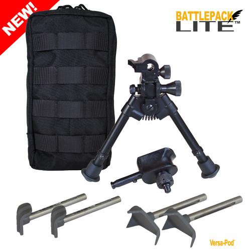 """Versa-Pod Battlepack Lite 7-9"""" Interchangeable Bipod"""