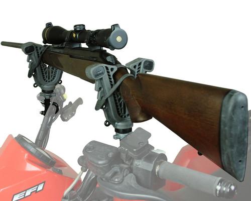 ATV-Tek V-Grip Quad Bike Gun Rack - Single Handlebar Rail Mount