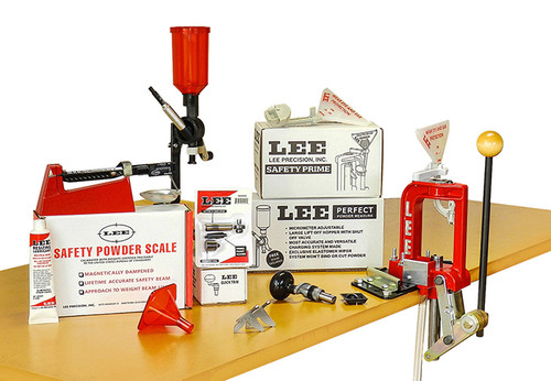 LEE Breech Lock 50th Anniversary Single Stage Reloading Press Kit