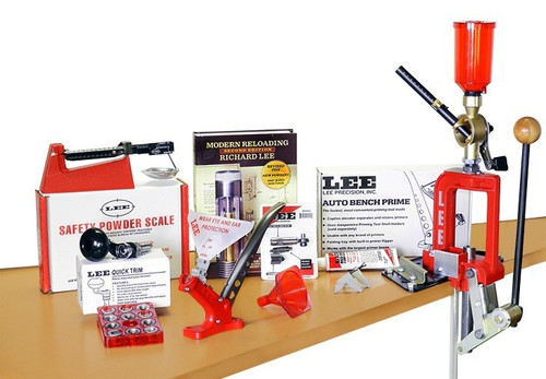 LEE Breech Lock 60th Anniversary Single Stage Reloading Press Kit