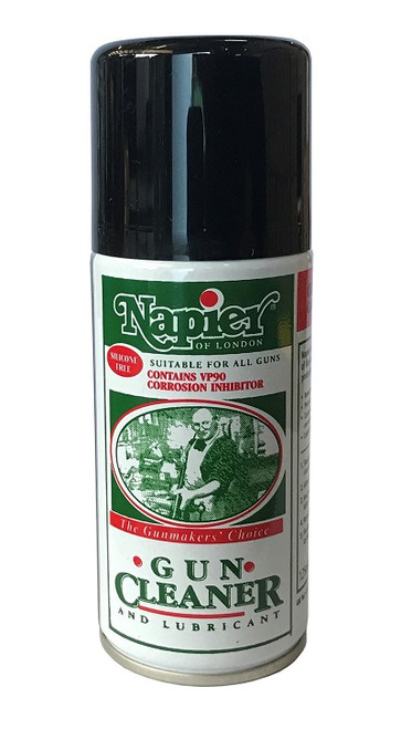 Napier Gun Cleaner and Lubricant - 125ml Aerosol