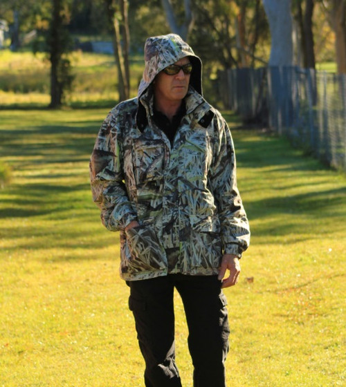Max-Hunter Koorangie Camo Hunting Coat - ALL SIZES