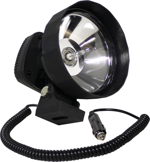 "HID Remote Spotlight 55w 4000 Lumens 6"" - 12v Cigarette Lighter Plug"