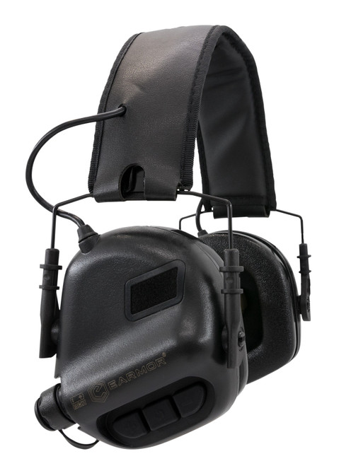 Earmor M31 Electronic Ear Muffs - Tactical Black