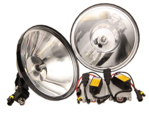 "Max-Lume 9.5"" Remote Spotlight/Driving Lights 55w HID PAIR"