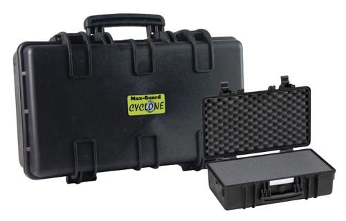Max-Guard Cyclone Deluxe Utility Pistol/Camera Hard Case - Black