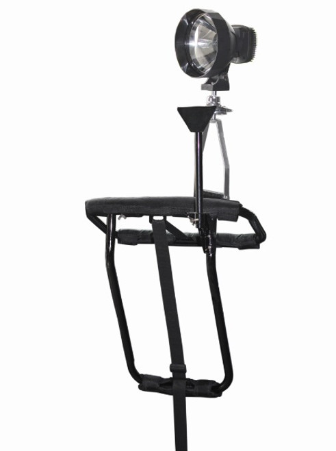 Max-Hunter Door Mounted Shooting Rest with Spotlight Mount & Handle