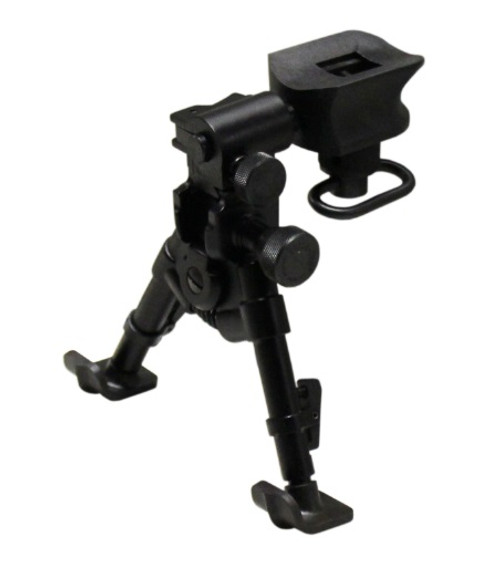 "Versa-Pod Model 49 Super-Short Prone 5-7"" Bipod - Ski Feet"