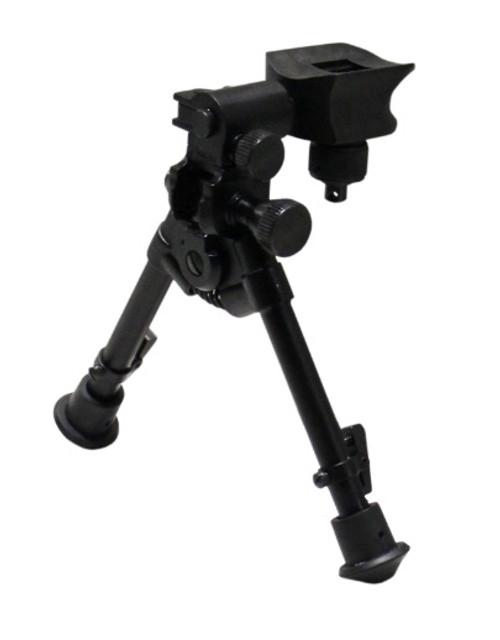 """Versa-Pod Model 51 Standard Benchrest 7-9"""" Bipod - Rubber Feet"""