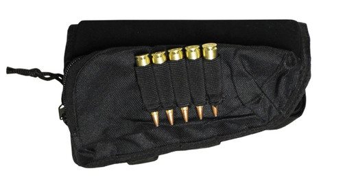 Max-Hunter Buttstock Cheek Pad with Ammo Holder