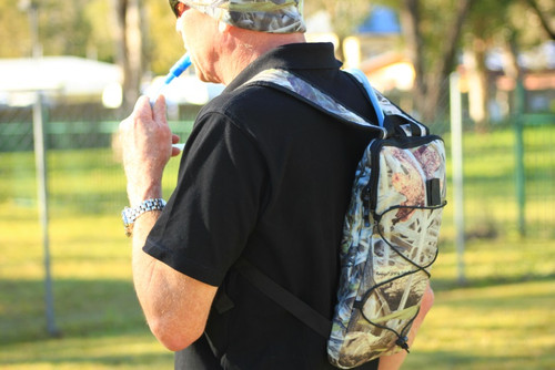 """Max-Hunter """"Drench"""" Camo Hydration Pack with 1.5L Bladder"""