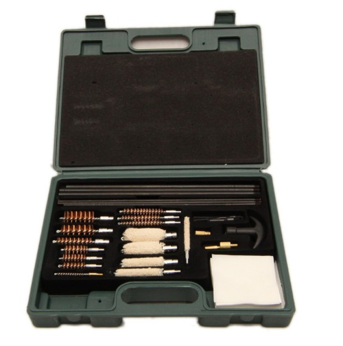 universal gun rifle pistol shotgun cleaning kit