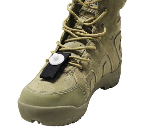 Clay Target Shooting Plastic Shoe Toe Tag