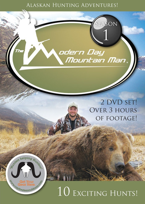 alaskan hunting adventures dvd movie season 1 hunting brown bear elk