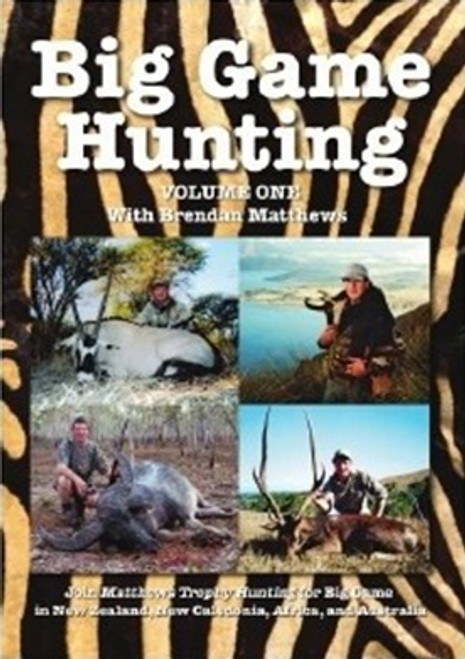 big game hunting outback shooting australia dvd movie