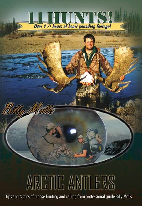 alaskan hunting adventure dvd movie arctic antlers moose caribou shooting