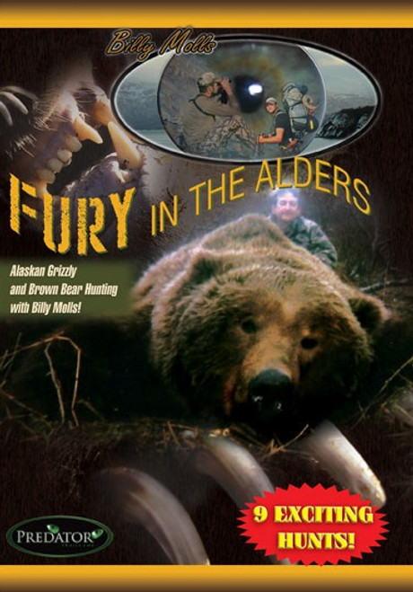 billy molls alaskan hunting adventure shooting dvd movie fury alders