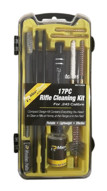 Max-Clean 17pc Deluxe Rifle Cleaning Kit