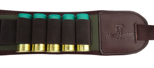 Max-Hunter 22 Round Ammo Belt Shotgun 12 Gauge