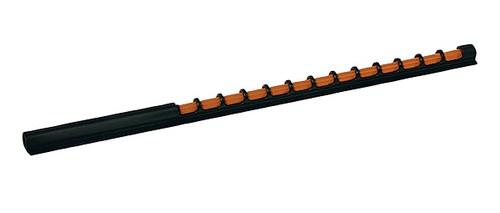 Ruby® Fibre Optic Adhesive Shotgun Sight - Orange - 120mm