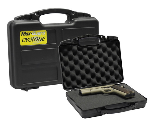 Max-Guard Cyclone Hard Plastic Pistol Case