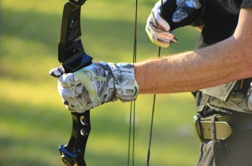 Max-Hunter Koorangie Camo Hunting Gloves