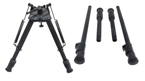 "Max-Hunter All-In-One 6-9"", 9-12"", 12-22"" Interchangeable Bipod"