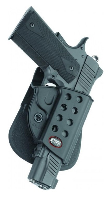 Fobus 1911 Paddle Holster with Double Magazine Pouch