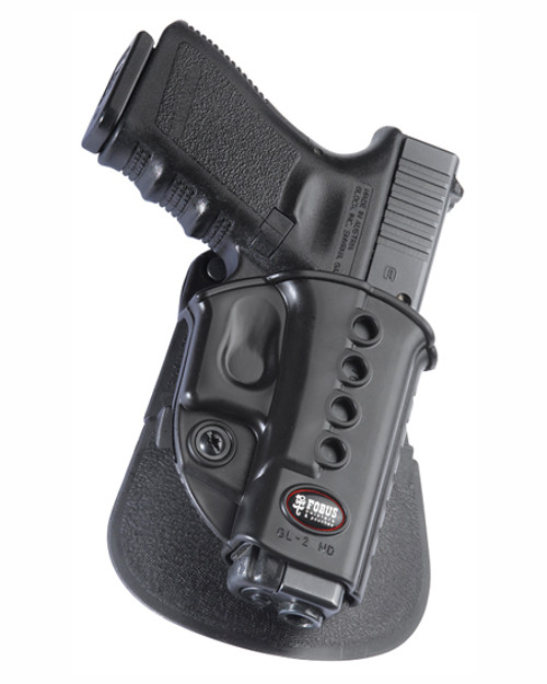 Fobus Glock Paddle Holster with Double Magazine Pouch