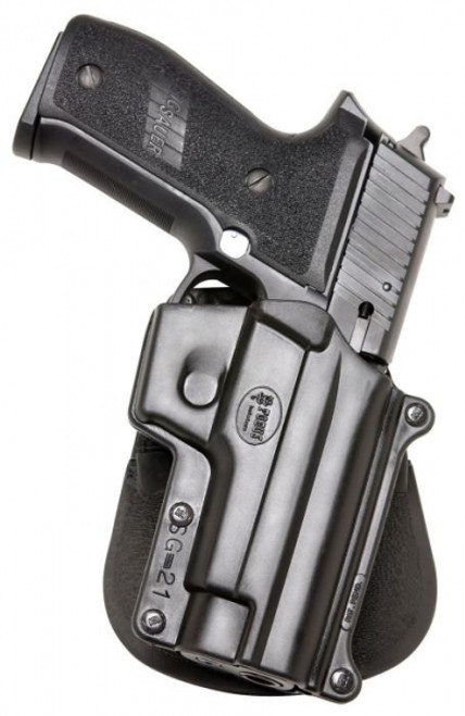 Fobus SIG, S&W Paddle Holster with Magazine/Cuff Pouch