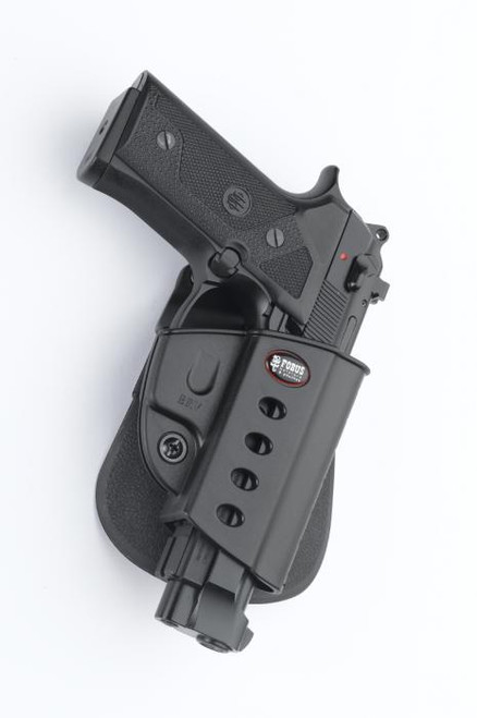 Fobus Taurus 92 Beretta Vertec Paddle Holster with Double Mag Pouch