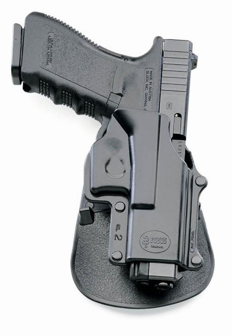 Fobus Glock 17 Paddle Holster with Double Mag Pouch