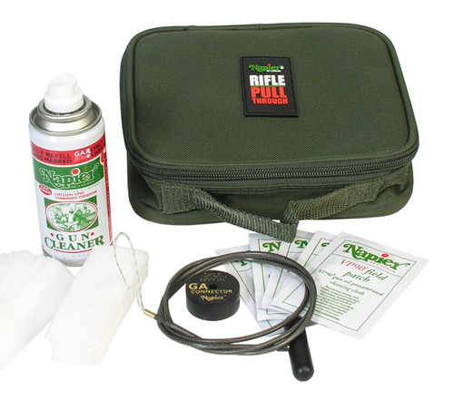 Napier Universal Pull Through Rifle Cleaning Kit
