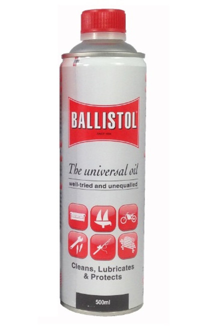 Ballistol Lubricant & Gun Oil 500ml Tin