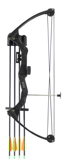 Youth C110 Compound Bow Kit Black 15-20lbs inc. Arrows