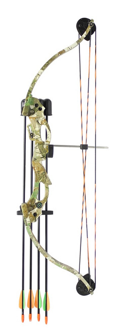 Youth C118 Compound Bow Kit Camo 20lbs inc. Arrows