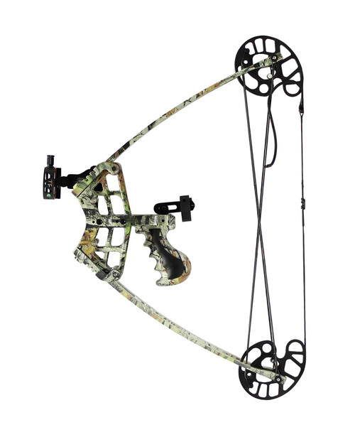 C109 Compound Bow Triangle 45lbs Kit inc Arrows