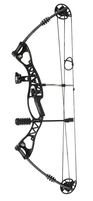 C106 Compound Bow 40-60lbs Black Kit inc Arrows & Accessories