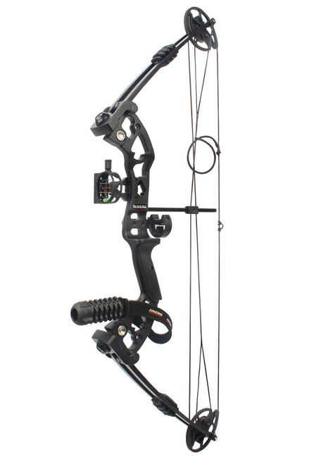 C131 Compound Bow 40-55lbs Black Set with Arrows
