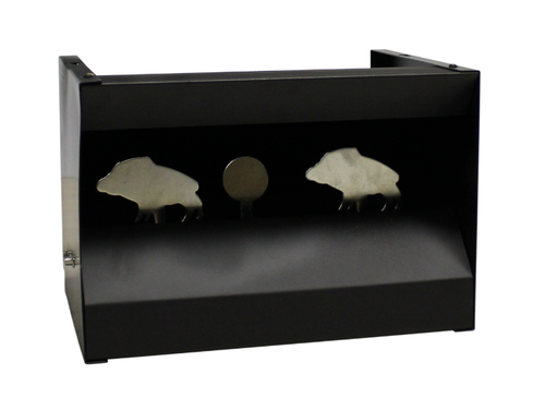 air rifle knockdown target pellet trap pig