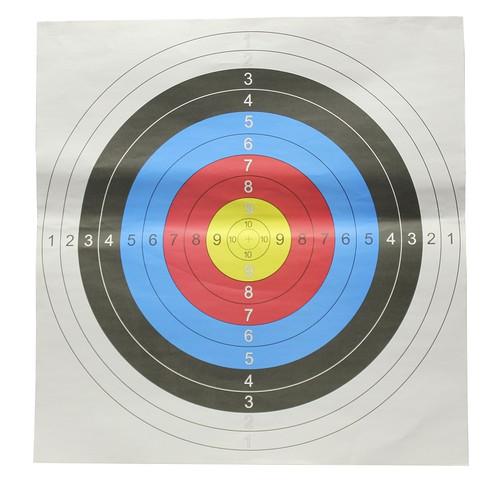 Archery Arrow Paper Target Face 60cm x 60cm (x1)
