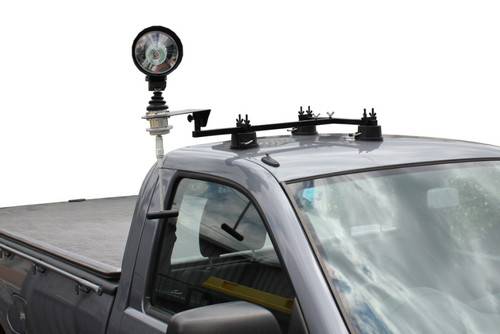 Max-Lume 3 Suction Cup Roof Spotlight Mount Package with 175mm HID Spotlight & Folding Handle