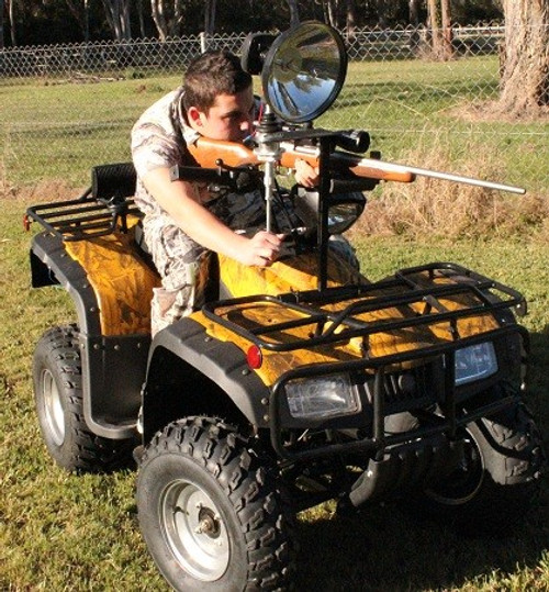 Max-Lume Quad Bike/ATV Spotlight Mount Package with 150mm HID Spotlight & Handle